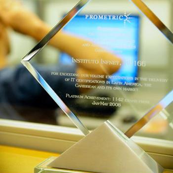 Premiação do Infnet pela Prometric